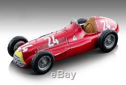 Alfa Romeo Alfetta 159M #24 Fangio 1951 F1 Suisse Gp 1/18 par Tecnomodel