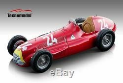 Alfa Romeo Alfetta 159 M N. 24 Winn. Swiss Gp 1951 Fangio 118 Formule 1 Échelle