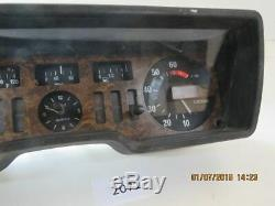 Alfa Romeo Alfetta Lim. Instrument Tableau de Bord Cockpit 602102 Veglia 2071