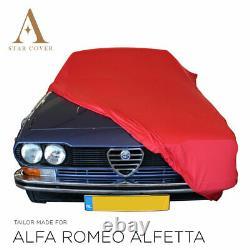 Bche De Protection Compatible Avec Alfa Romeo Alfetta Pour Intérieur Rouge