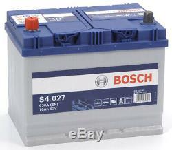 Bosch S4027 Batterie de Voiture 70A/h-630A