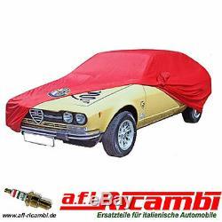 Car Cover Rouge sur Mesure Alfetta Gt / Gtv 6 (116)
