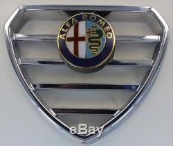 Coeur calandre chromée Alfa Roméo Giulietta Alfetta GT GTV Alfasud 33