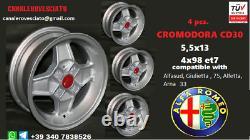 Cromodora Alfa Romeo 33 75 Alfasud Alfetta Gulietta llantas jantes jantes jantes