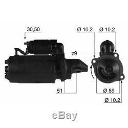 DEMARREUR ALFA ROMEO 155 2.0 16V Turbo Q4 140KW 190CV 01/199212/97 EM168Q V150