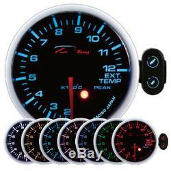 D Racing 52mm Température des Gaz D'Échappement Afficher Instrument Warning Pic