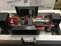 Exoto 1/18- Alfa Romeo Alfetta 159 A #4 Giuseppe Farina, Winner GP Belgique 1951