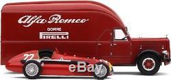 Exoto 43 1951 Alfa Romeo Race Porte-Voitures Alfetta 159 #Exo00002