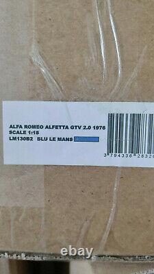 Laudoracing-models Alfa Romeo Alfetta Gtv 2000 1976 118 Lm130b2
