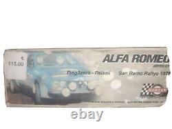 Maquette Kit Alfa Romeo Alfetta Narton 1/24