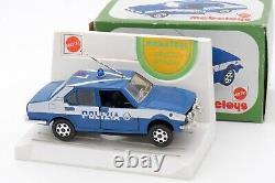 Mebetoys Mattel 1/43 Alfa Romeo Alfetta Polizia #a-83 Avec Sa Boite