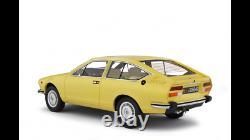 Miniature voiture Alfa Romeo Alfetta Gtv 2000 auto 1/18 Modélisme