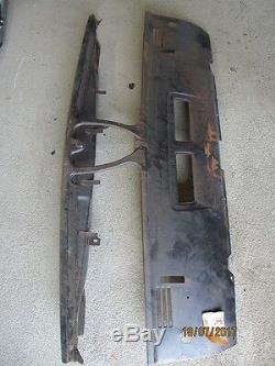 ORIGINAL ALFA ROMEO ALFETTA 1ère série 1,6/1,8 Plaque Avant 116085404000 NEUF