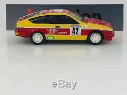 PROVENCE MOULAGE ALFA ROMEO Alfetta GTV6 33 Export n°42 Rally Cevennes 1985 1.43
