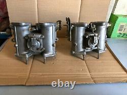 Paire Carburateurs Dell'Orto DHLA 40 L  alfa romeo giulietta 75 90 alfetta