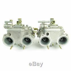 Paire de DELLORTO dhla40h Alfa Romeo Alfetta / GTV TURBO carburateurs(cache)