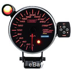 Prosport 115mm Vitesse Afficher Instrument Compteur de Calibre Attention Peak