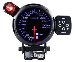 Prosport 80mm Vitesse Afficher Compteur de Calibre Pic Instrument Attention