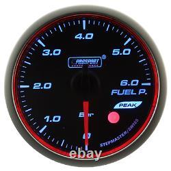 Prosport WRC Halo premium 60mm Pression de Carburant Afficher Instrument JDM