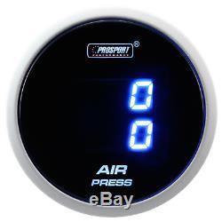 Prosport de Charge Double 52mm Luftdruck-Anzeige Bleu