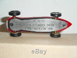 RARE ALFA ROMEO ALFETTA 158 1950 MRF résine série limitée 1/43 factory built