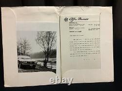 Rare Dossier De Presse USA 1977 ALFA ROMEO ALFETTA GT SPIDER VELOCE Press Kit