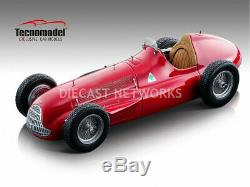 Tecnomodel Alfa Romeo Alfetta 159M 1951 Presse Version Rouge 1/18 Echelle Le De