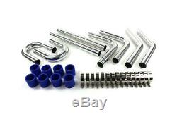 Universel Intercooler Tuyauterie Inter Cooler Piping Mise au Point Turbo 2,0