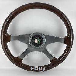 Véritable Atiwe Bois Jantes Direction Roue Alfa Romeo Alfetta Giulietta De 8A