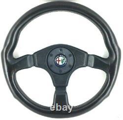 Véritable Momo 360mm Cuir Direction Roue Alfa Romeo Sz, Alfetta Spider Etc 9C