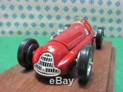 Vintage Alfa Romeo Alfetta 158-159 Champion Du Monde 1950/51 -1/25 Mebetoys
